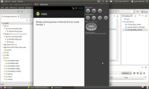 Android programming di linux